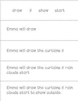 Third Grade Sight Word Fluency Sentences and Tracing Flip Books
