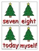 Third Grade Sight Word Game Christmas Edition