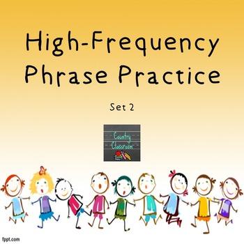 Third Grade Sight Word Phrases PowerPoint: Set 2