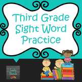 Third Grade Sight Word PowerPoint: Set 1