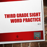 Third Grade Sight Word PowerPoint: Set 2