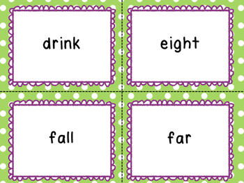 Third Grade Sight Words