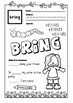 Third Grade Sight Words Activities - Spring Themed