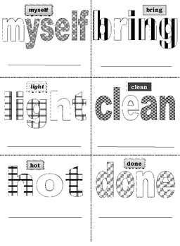 Third Grade Sight Words FREE PREVIEW Activity Cards
