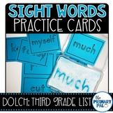 Third Grade Sight Words Cards