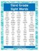 Third Grade Sight Words Study Bundle