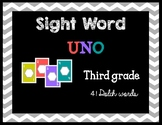 Third Grade Sight Words UNO-Dolch