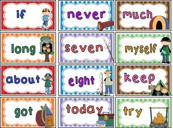 Sight Words ~ 3rd Grade