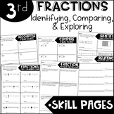 Third Grade Skill Pages Fractions