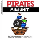 Pirate Mini Unit  Distance Learning Independent Work Packet