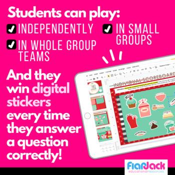 Third Grade Smart Board Promethean Game Bundle