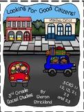 Third Grade Social Studies- Citizenship 3.C&G 1.1, 1.2, 1.3, & C&G 2.1, 2.2, 2.3