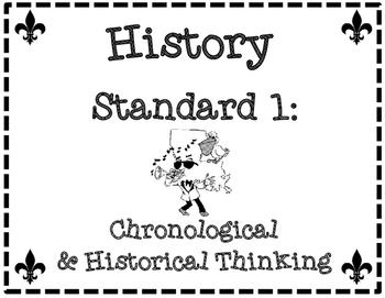 Printer Friendly Third Grade Louisiana Social Studies GLE's & I Can Statements