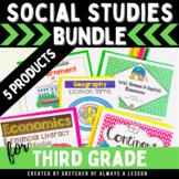 Third Grade Social Studies Lessons Bundle
