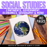 Third Grade Social Studies Lessons GROWING Bundle