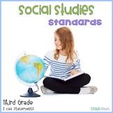 Social Studies Standards Third Grade