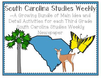 Third Grade South Carolina Studies Weekly: Growing Bundle