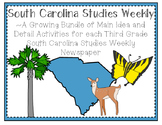 Third Grade South Carolina Studies Weekly: Growing Bundle