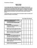 Third Grade Social Studies check list for Oklahoma Studies