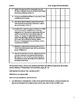 Third Grade Social Studies check list for Oklahoma Studies