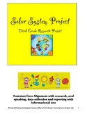 Third Grade Solar System Presentation Project