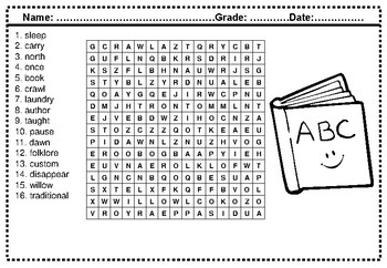 Third grade spelling words word search worksheets by swati sharma third grade spelling words word search worksheets ibookread Read Online
