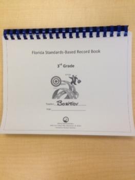Third Grade Standards-Based Record Book- FLORIDA STANDARDS