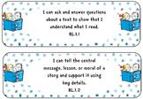 "Third Grade Standards ""I Can Statements"" Seuss Theme Bundle"