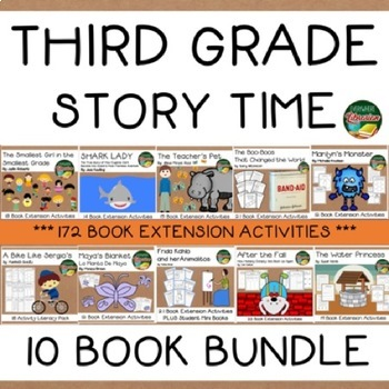 Third Grade Story Time 10 Book Bundle