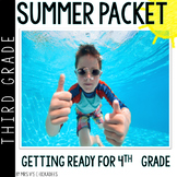 Third Grade Summer Packet: Summer Review for 3rd Graders Entering 4th Grade