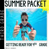 Third Grade Summer Packet: Summer Review for 3rd Graders Entering 4th Grade