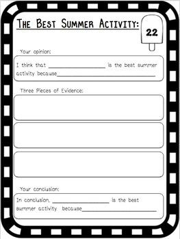 Third Grade Summer Review Pack