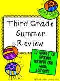 Third Grade Summer Review Packet