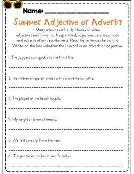 Third Grade Summer Review Packet (Entering 4th Graders)