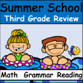 Third Grade Summer School: Reading, Math, Grammar