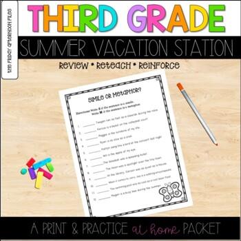 Third Grade Summer Vacation Station