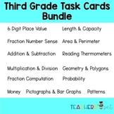 Third Grade Task Cards Bundles