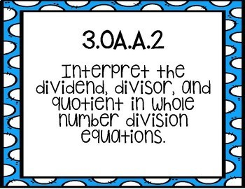 Third Grade Tennessee Math Standards
