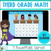 Third Grade Test Prep First Quarter