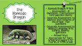 Third Grade Test Prep, The Komodo Dragon