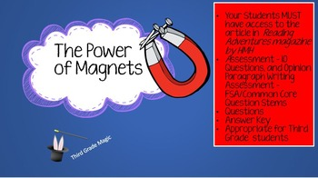 Third Grade Test Prep, The Power of Magnets
