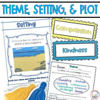 Third Grade Theme, Setting, and Plot RL.3.9