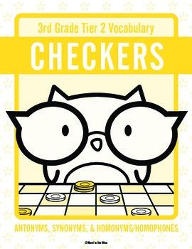 Third Grade Tier 2 Vocabulary Checkers