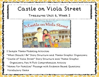 "Third Grade Treasures Unit 6 Week 2 ""Helping Our Neighbors"""