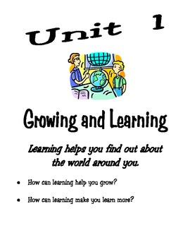 Third Grade Unit 1 McGrawhill Reading Wonders Workbook