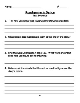 Third Grade Unit 2 McGrawhill Reading Wonders Workbook