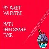 Third Grade Valentine's Day Math Performance Task