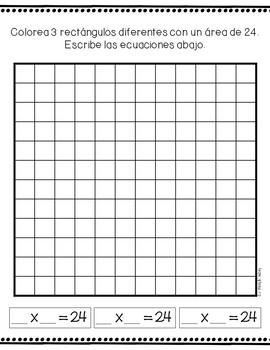 Third Grade Valentines Day Math Packet - SPANISH