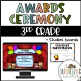 3rd Grade Awards Ceremony + Student Awards