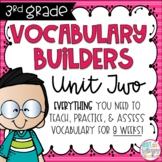 Third Grade Vocabulary Builders Unit 2
